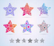 Star shapes Stock Images