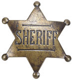 Star Sheriff Royalty Free Stock Photo