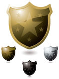 Star shield Stock Photo