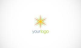 Star shine logo Stock Images