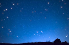 Star shower Stock Photography