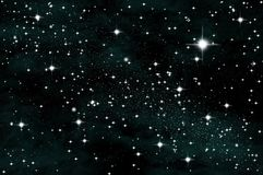 Star in the sky Royalty Free Stock Photos