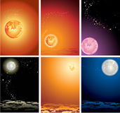 The star sky Stock Photos