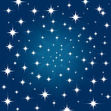 Star sky background Stock Photo