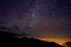 Star sky Stock Images