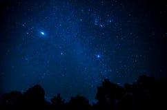 Star in the sky Stock Photo