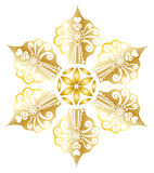 Star snowflake Royalty Free Stock Photography