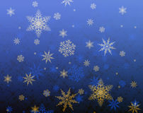 Star and snowflake pattern Stock Photo