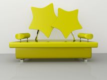Star Sofa Royalty Free Stock Photo