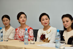 Star Sopranos of China in St. Petersburg, Russia Royalty Free Stock Images
