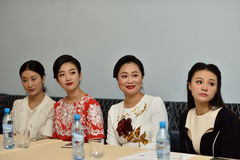 Star Sopranos of China in St. Petersburg, Russia Royalty Free Stock Image