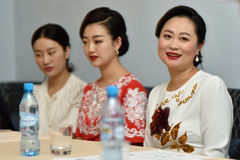 Star Sopranos of China in St. Petersburg, Russia Royalty Free Stock Photo