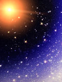 Star space background Royalty Free Stock Images