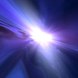 Star Space Horizon Background Royalty Free Stock Images