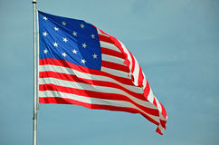 Star Spangled Banner Flag Royalty Free Stock Photo