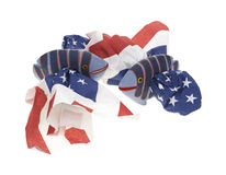 Star Spangled Fish Napkin Holders Stock Images