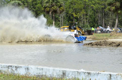 Star-spangled swamp buggy Stock Photography