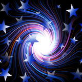 Star spiral Stock Image