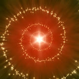 Star spiral. An image of a nice star spiral background Royalty Free Stock Photo