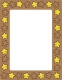 Star / stars border Stock Images