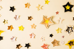 Star stickers plastered Stock Photos