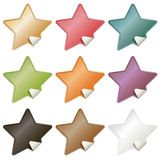 Star stickers Royalty Free Stock Image