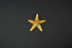 Star from straw Stock Photos