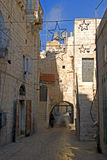 Star Street, Betlehem, Palestine Royalty Free Stock Photo