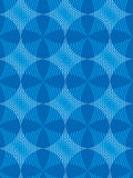 Star and Stripe Pattern Blu Royalty Free Stock Photography