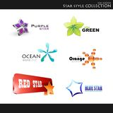 Star style collection Royalty Free Stock Images