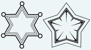 Star symbol Royalty Free Stock Photo