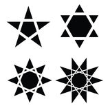 Star symbol vector Royalty Free Stock Image