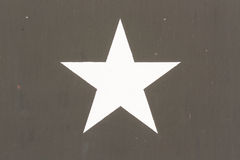 Star Symbol on a Vietnam war US Military Vehicle.  stock image