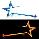 Star symbols Stock Photography