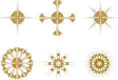 Star symbols Royalty Free Stock Photography