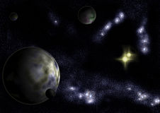 Star System Altar Royalty Free Stock Image