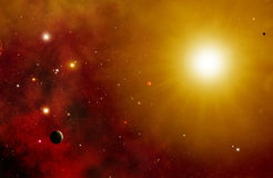 Star System Background Royalty Free Stock Images