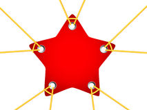 Star tag Royalty Free Stock Image