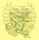 Star team Royalty Free Stock Photography