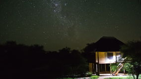 Star Time Lapse Kruger Park stock video