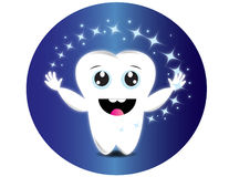 Star tooth Stock Images
