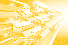 Star torrent. Background with shining star torrent Royalty Free Stock Images