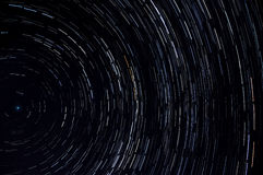 Star tracks sky space Stock Photos