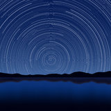 Star Trail Royalty Free Stock Photos