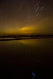 Star trail Stock Images