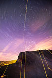 Star trail Royalty Free Stock Images