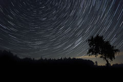 Star trails Stock Photos