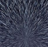 Star trails Stock Photo