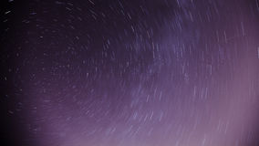 Star trails background Royalty Free Stock Photos