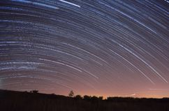 Star Trails 1 Stock Photography